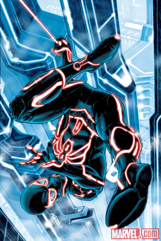 "Marvel Heroes getting ""TRON-ified"""