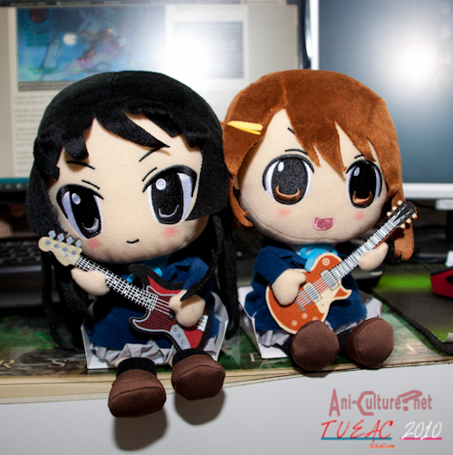 Mio and Yui Plushies!