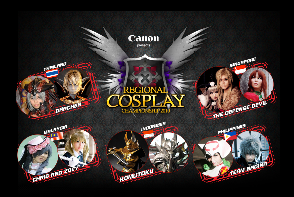 AFA X: RCC2010, cosplay, Media Update