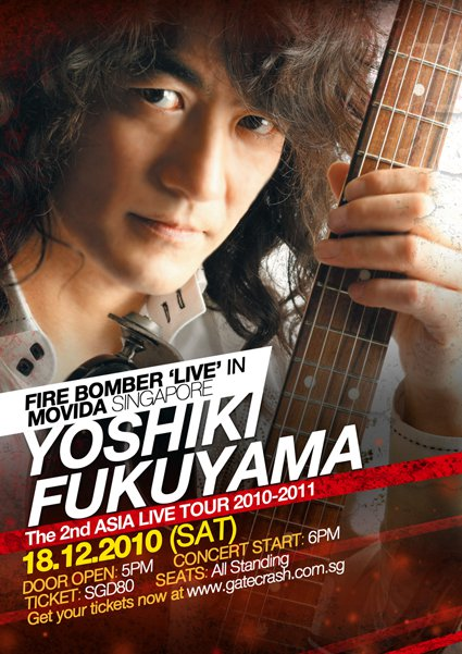 Fukuyama 2nd Asia Tour! (Updated)
