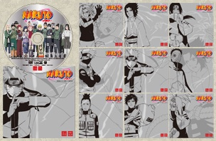 Exclusive Naruto DVD Offered at Uniqlo T-Shirt Stores