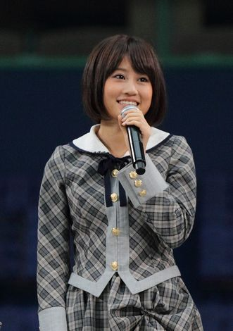 AKB48's Atsuko Maeda to release first solo single.