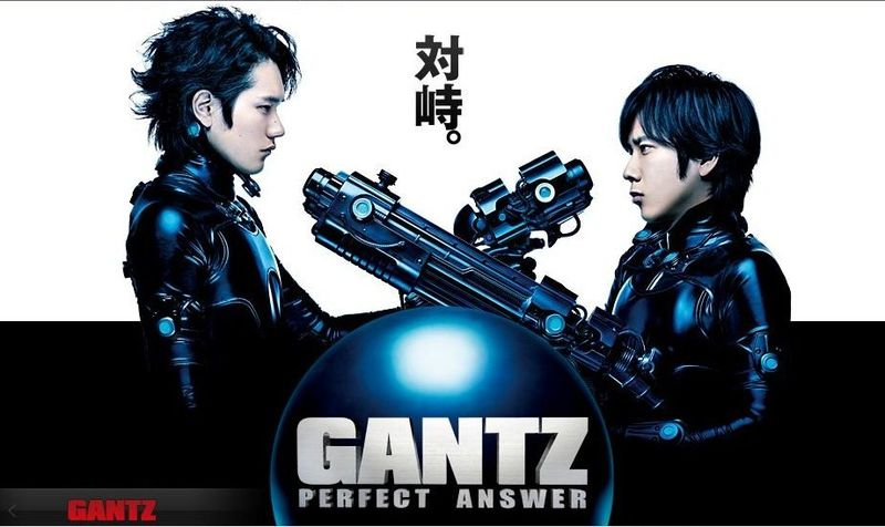 GANTZ – Perfect Answer, Rank 1st in 1st week