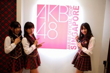 AKB48 SG Official Shop Opening