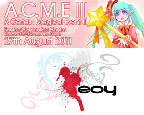 ACME III and EOY 2011, Dated~
