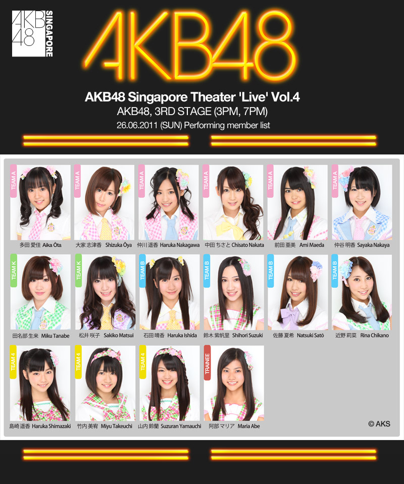 SG AKB48 Cafe, Opens on the 25th!