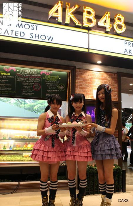 AKB48 Cafe Singapore, Soft Opens~