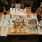 AKB48 goodies.