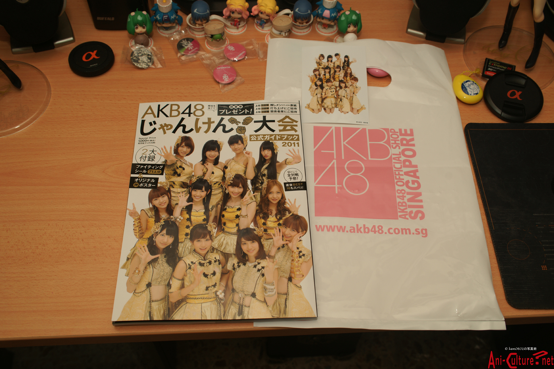 AKB48 2011 Janken Tournament Guidebook.