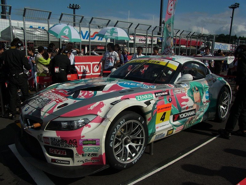 Hatsune Miku GSC BMW won the GT300