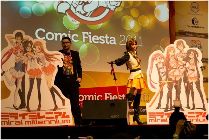 MY: COMIC FIESTA 2011