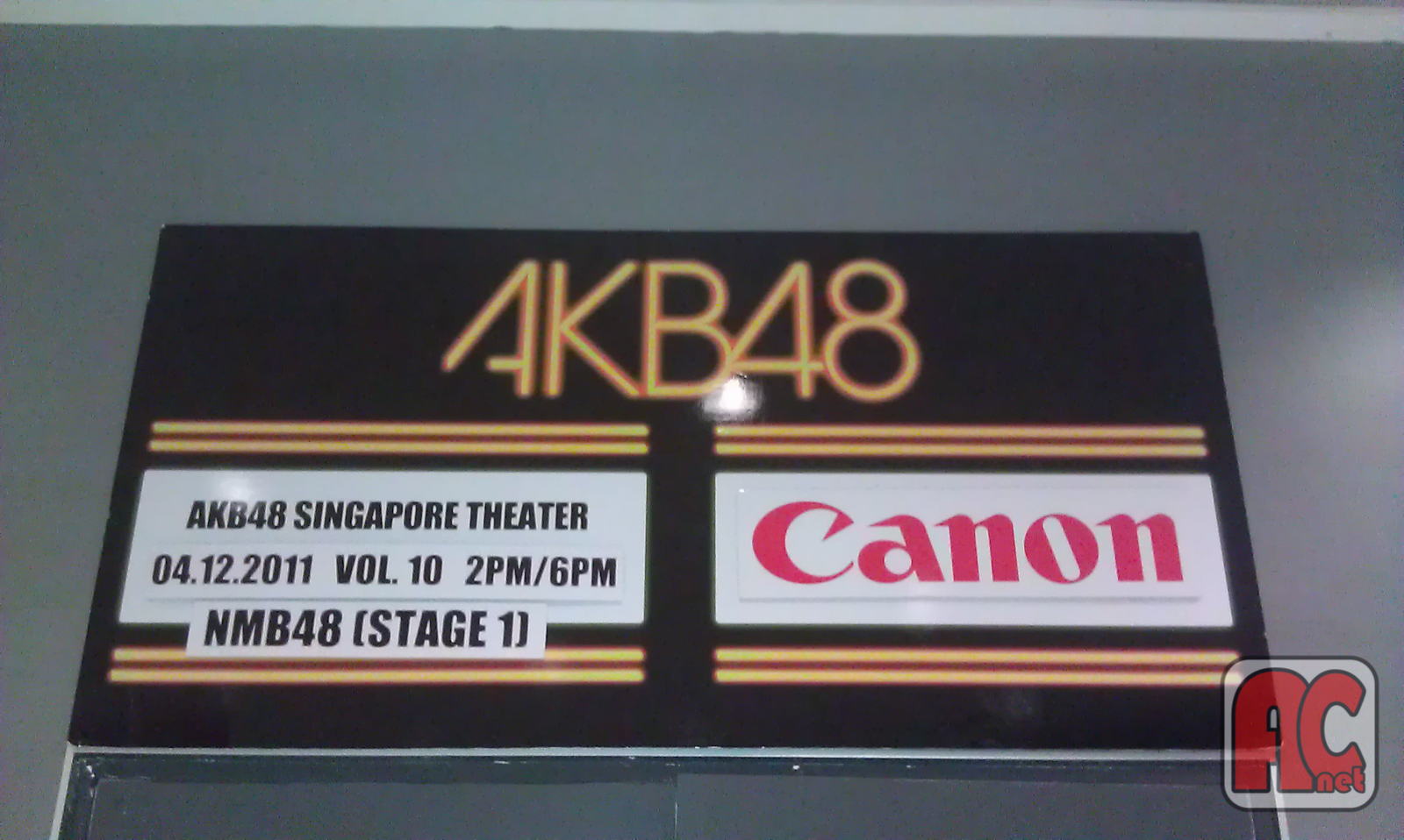 Reflection: AKB48 Singapore 2011