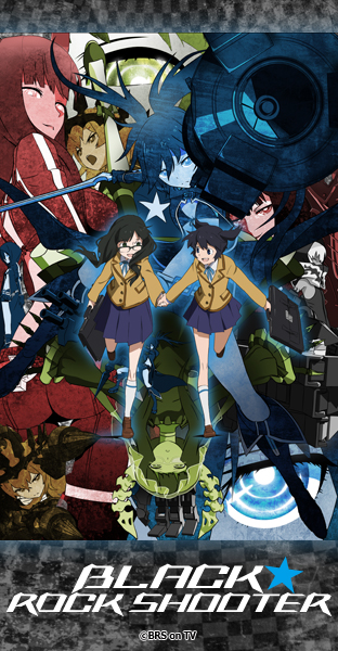 BRS TV anime, streamed Worldwide in 8 Languages