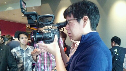 Canon C300 launch in Singapore