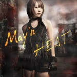 "May'n: 3rd album ""HEAT"" jacket revealed + tracklist."