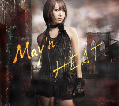 "May'n: 3rd album ""HEAT"" jacket revealed + tracklist."