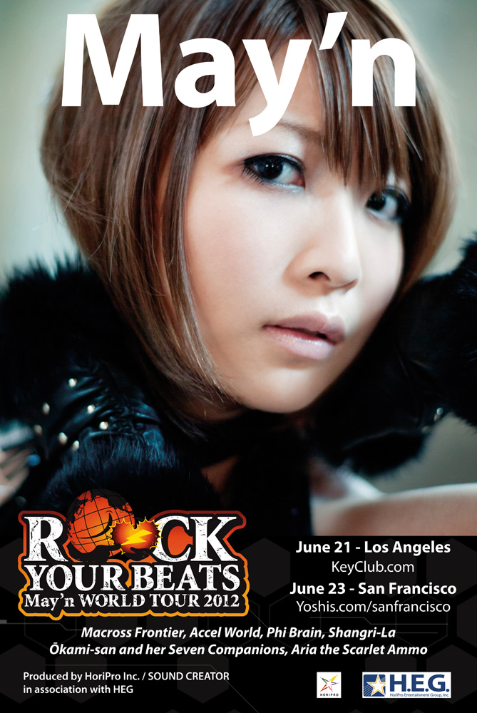 May'n presents special video message for FanimeCon 2012