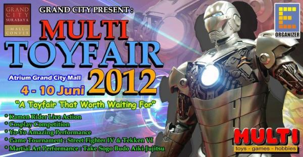 [IND]Multi Toyfair 2012 @ Surabaya~!