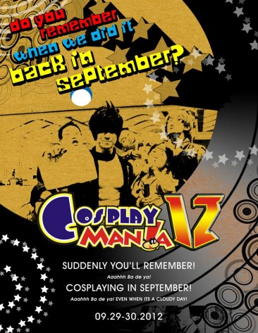 PH: Cosplay Mania '12