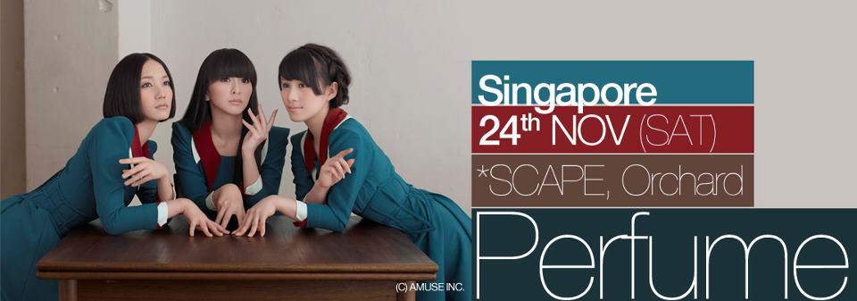 SG: JLIVE asia – PERFUME!!!! 24th Nov 2012!!!