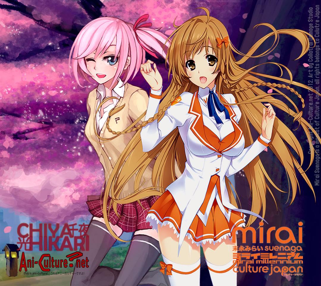 Chiya X Mirai Wallpaper~