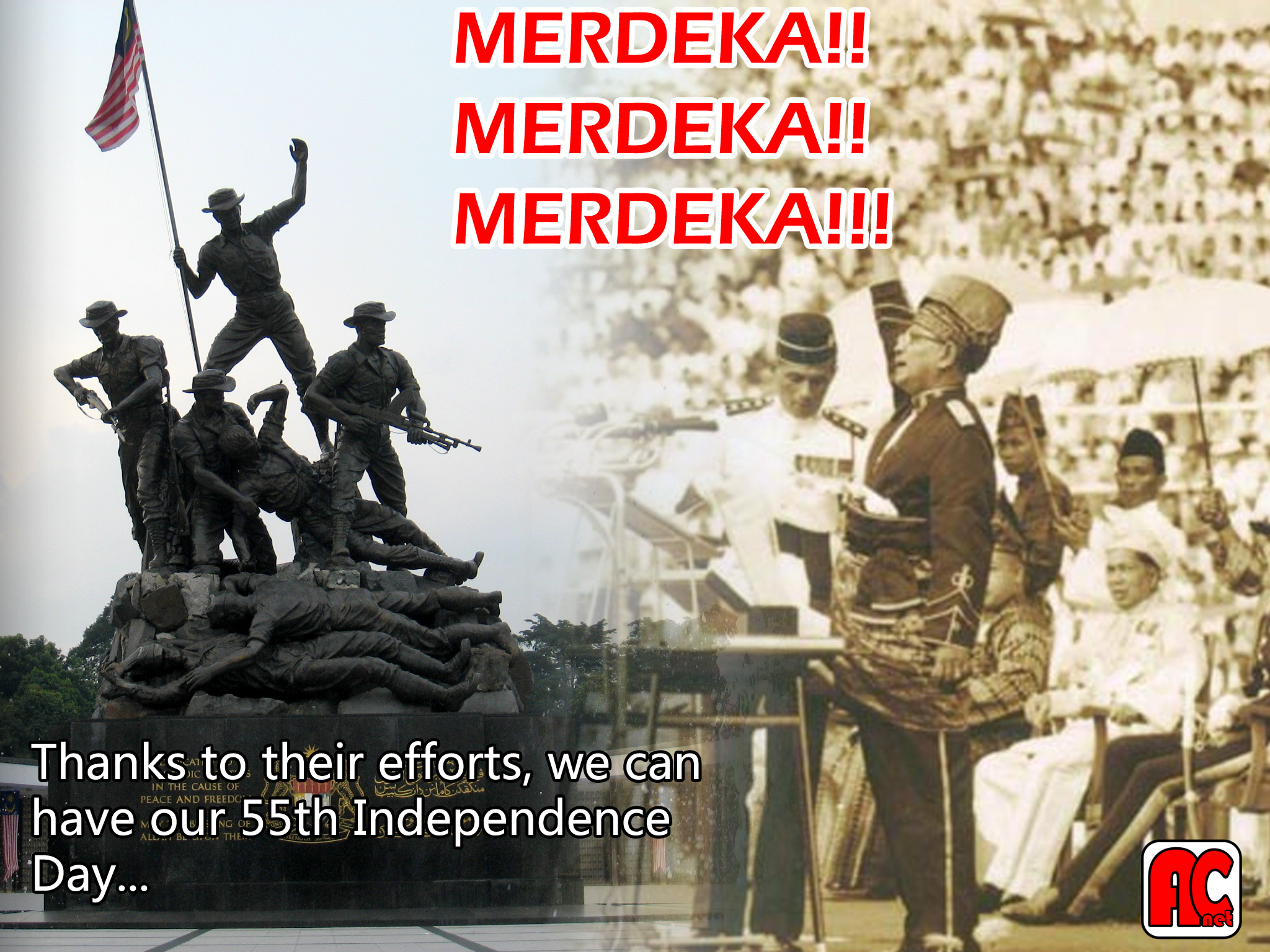 MY: 55th Malaysia's Independence Day