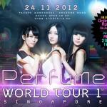 SG: Perfume World Tour 1st SG announces Ticketing details