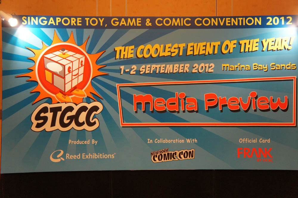 Singapore Toys Games and Comics Convention (STGCC) 2012 Media Preview