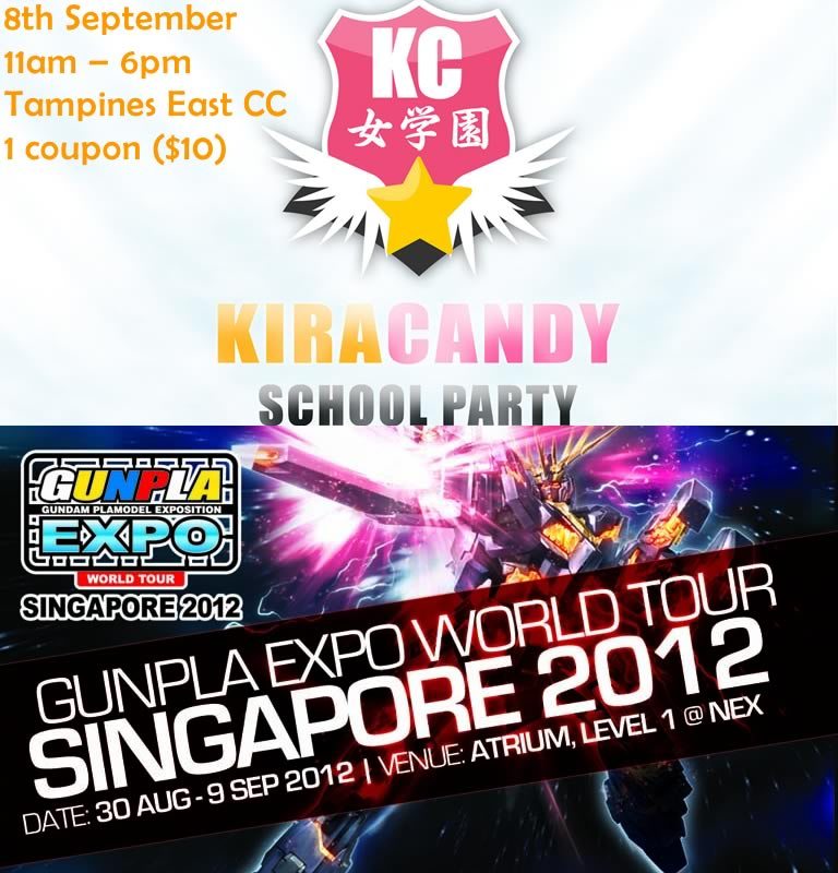 SG: Kira Candy and Gunpla EXPO(final Weekend)