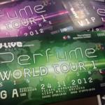 SG: Perfume World Tour 1st, Singapore