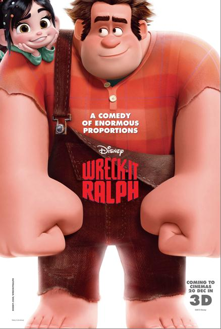 Wreck-It-RALPH opens 20 Dec in Singapore