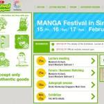 Manga Festival in Singapore: a chance for CoFesta Student Ambassador Program!