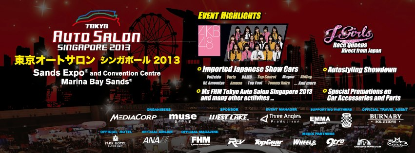 "[SG] [UPCOMING] AKB48 Hits Tokyo Auto Salon Singapore with their ""Live"" Performance!"