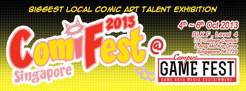 [SG] ComiFest 2013 @ Campus Game Fest!