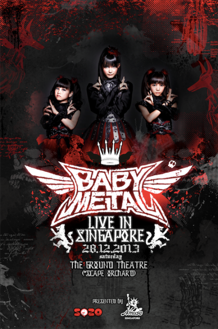 Babymetal Live in Singapore