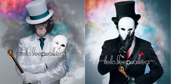 "Hello Sleepwalkers 2nd Album ""Masked Monkey Awakening"""