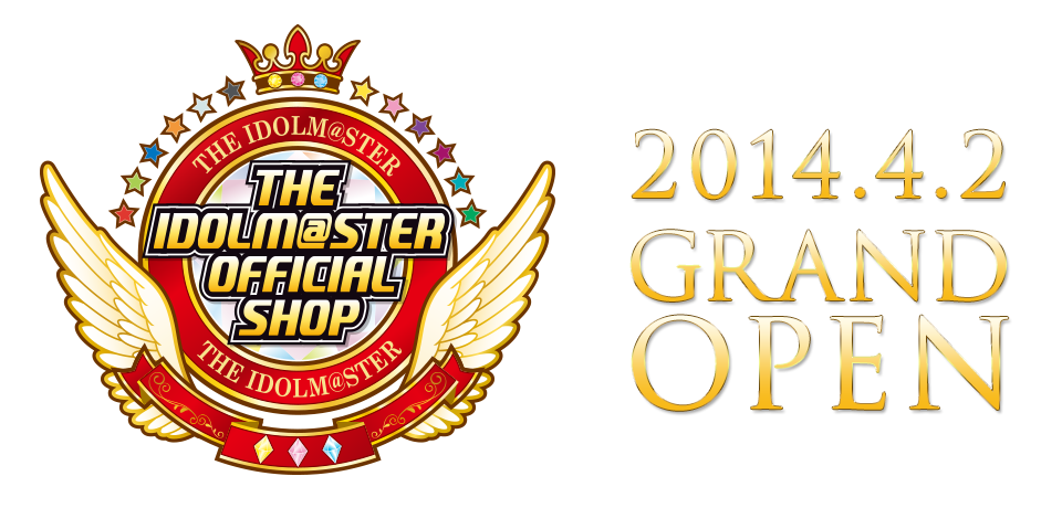 NAMCO presents new Chara Shop featuring The Idolm@ster