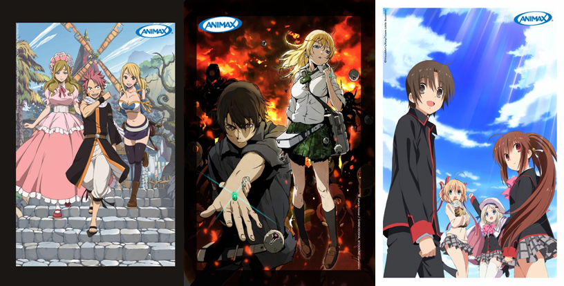 Animax Asia 2014 March Premiers New Season Of Animes