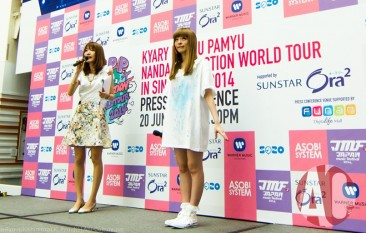 [SG] [Images] KPP NANDA COLLECTION WORLD TOUR 2014 IN SINGAPORE supported by SUNSTAR Ora2! Press Conference