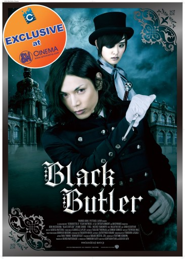 Black Butler Live Action Premiere in the Philippines