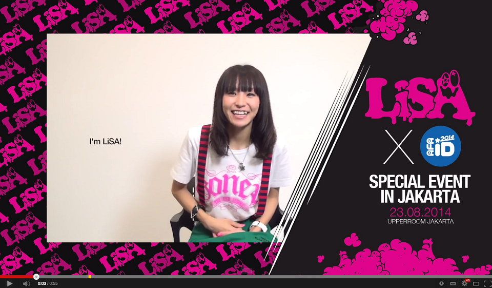 AFA ID 2014: LiSA Special Event