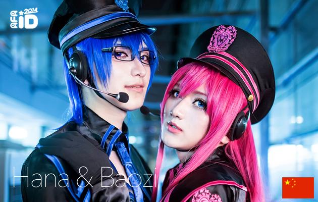 AFA ID 2014 : Best of Asia Cosplayers – Hana and Baozi (China)
