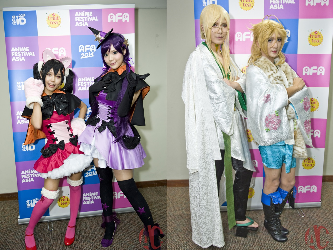 AFA ID 2014: Interview with Angie, Ying Tze, Hana and Baozi