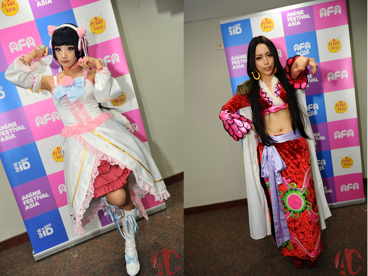 AFA ID 2014: Interview with Aza Miyuko and Kisaki Urumi