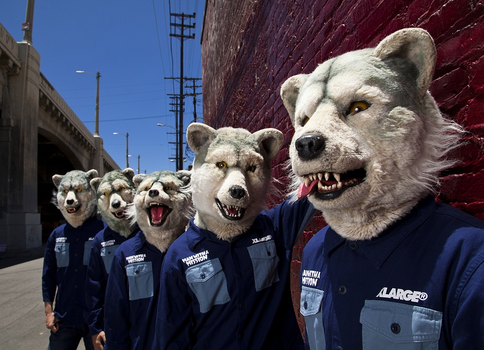 "MAN WITH A MISSION nominated as a ""wild card"" candidate for the ""2014 MTV EMA"""