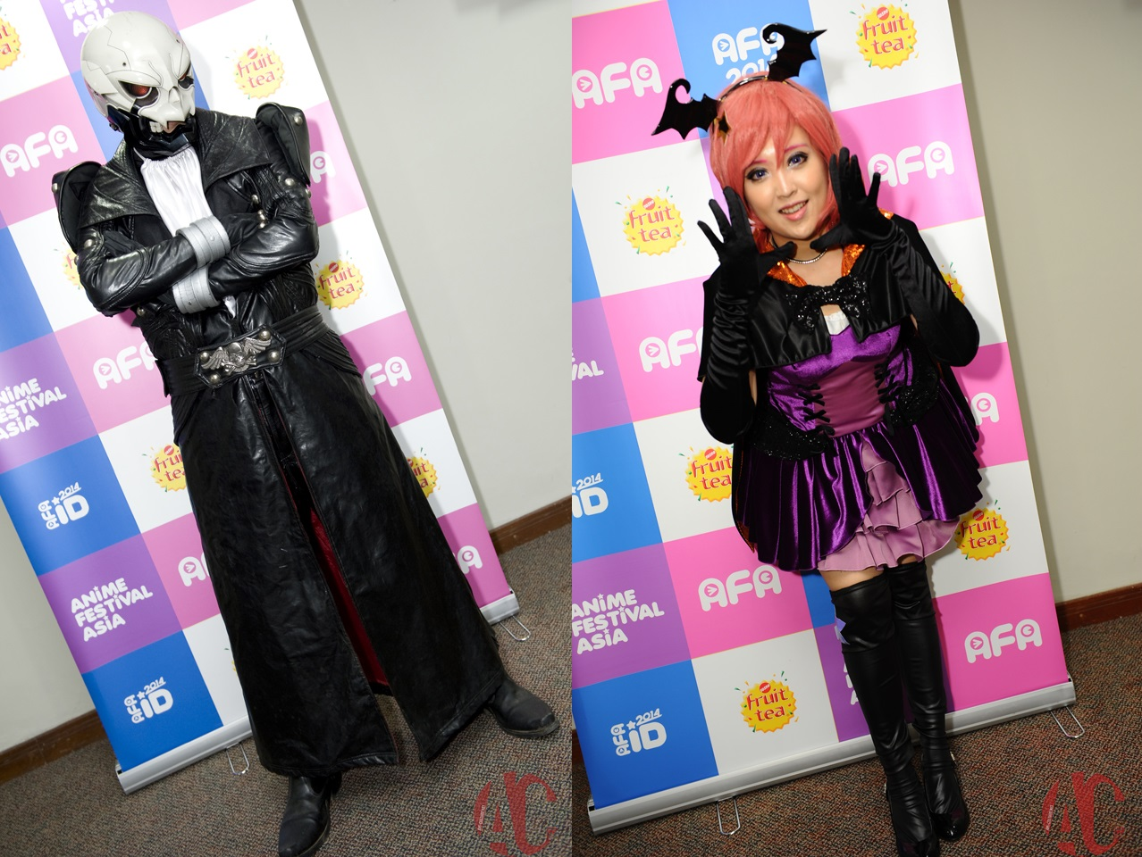 AFA ID 2014: Interview with Richfield and Pinky Lu Xun