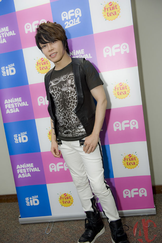 AFA ID 2014 : Interview with T.M Revolution