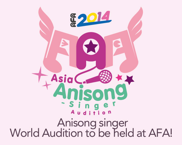 Anisong-singer World Audition to be held at  Anime Festival Asia 2014