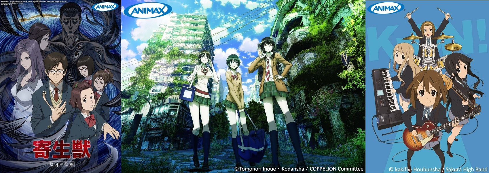 Animax's New Lineup for October 2014