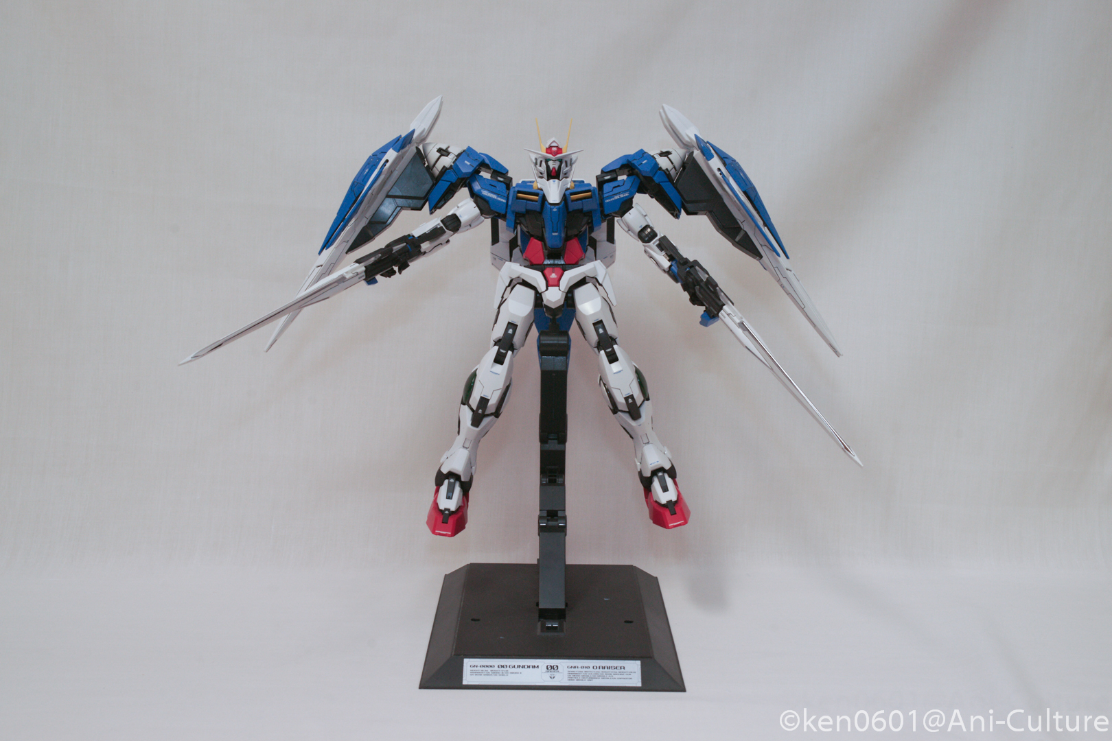 From runners to Gundam, 1/60 PG Gundam 00 Raiser.